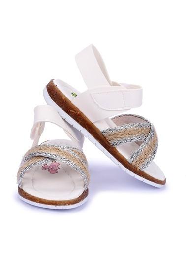 Kiko Kids Spor Sandalet Beyaz